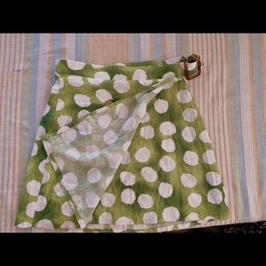Urban Outfitters Skirts - Linen wrap skirt